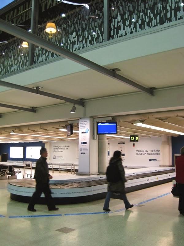 helsinki airport bugageclaim