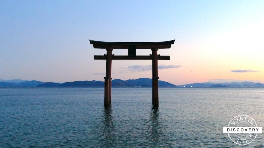 【滋賀】写真家に大人気!琵琶湖に浮かぶ鳥居のある白髭神社
