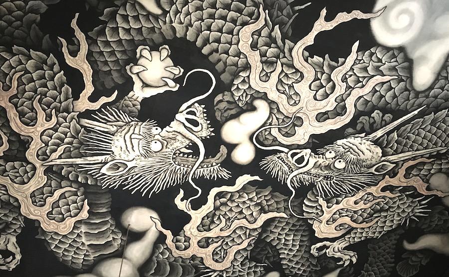 kenninji dragon painting