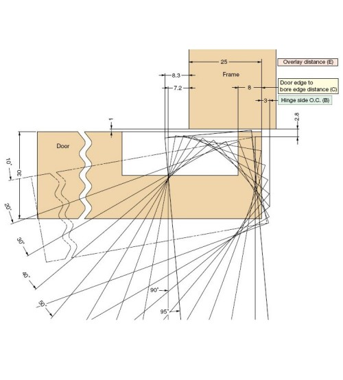 cabinet door diagram ionic bond dot concealed heavy duty wooden hinge j95