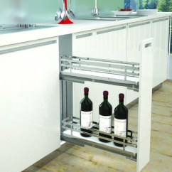 Pull Out Kitchen Cabinet Ninja System Pulse Wine Rack Sige Infinity Plus 150mm