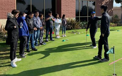 Helping Juniors Give Golf A Go