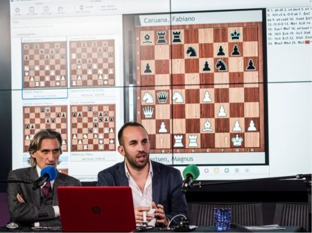 Google Hoofdkwartier Londen : Veel zetherhalingen in londen classic schaaksite