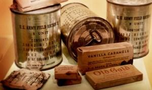 C rations-museumdisplay
