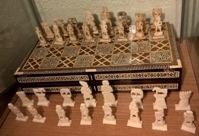 schaakspel oud-egyote