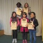 Siegerinnen Klasse 1 und 2