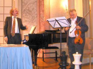 Lothar Arnold und Vilmos Kubacsny