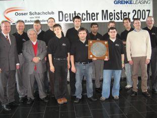 Deutscher Meister 2007 OSC Baden-Baden