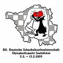 Logo 80. Deutsche Einzelmeisterschaft