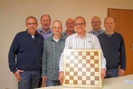 v.l.n.r.: Bernhard Peter, Bruno Reck, Dieter Fiedler, Günther Hurle, Marcus Metz, Michael Terlaak und Klaus Knopf