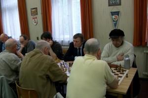 Im anderen Raum begann unsere Seite mit Stefan Bauer, Ingo Lange und Konrad Mewes