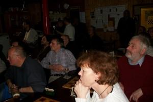 Brigitte und Manni beteiligten sich rege am Vortrag.