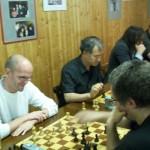 Ex-Mitglied Matthias Lewandowski lässt sich mal wieder blicken und hat sichtlich Freude beim Spielen!