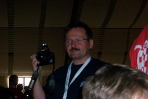 Der Mann der für die Berichterstattung verantwortlich und gleichermaßen als Delegationsleiter für Berlin zuständig war: Frank Kimpinsky!