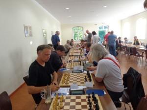 Thomas Heerde gewann nach seinem Sieg im SKZ-Open erneut gegen Ralf-Axel Simon