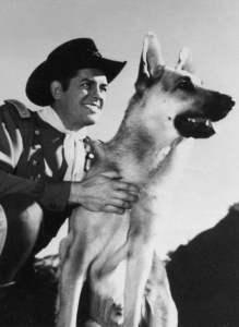 Rin Tin Tin Schäferhund - James Brown 1955