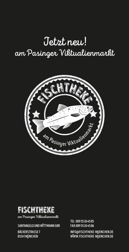 Flyer Fischtheke