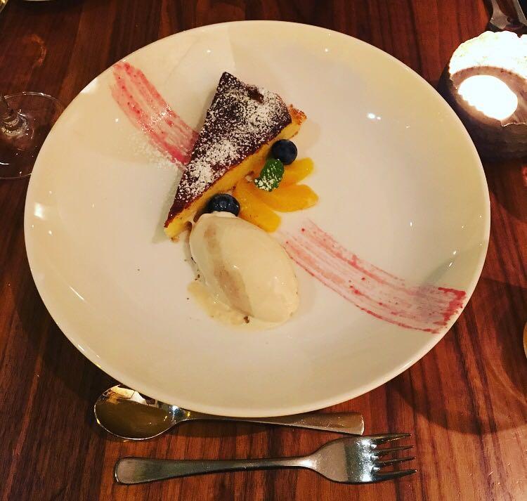 Ricottatarte Nougat-Eiscreme Dessert ELLA