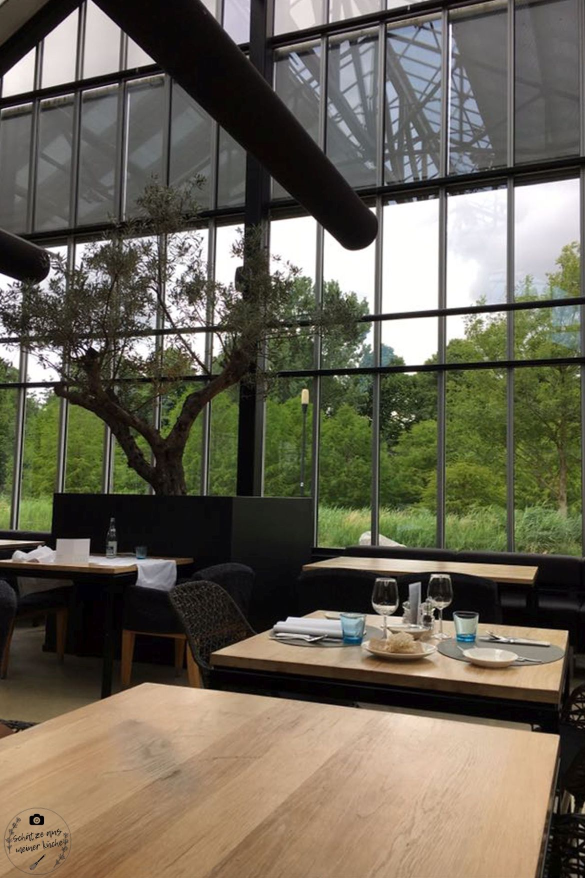 De Kas Restaurant Gewächshaus Amsterdam