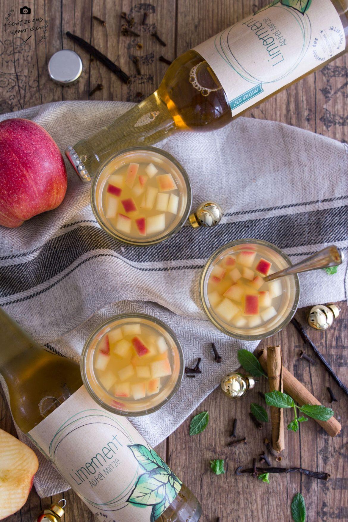 Limoment Apfel-Minze-Liomande Apfelpunsch