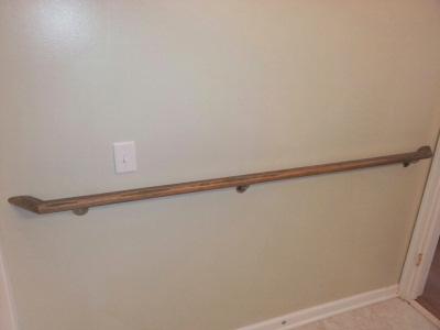 Grab bars hand rails transfer aids  Schaffer Construction