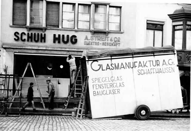 Bombardierung 2  Schaffhausen Foto Archiv