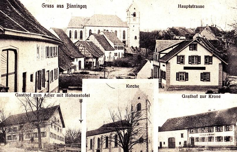 Binningen  Schaffhausen Foto Archiv