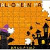 ハロウィンパーティの看板やカードをジグソーパズルに
