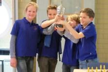 Comeniusschool team 2 wint het kampioenschap
