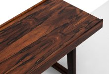 Torbjørn Afdal Krobo bench / side table in rosewood at Studio Schalling