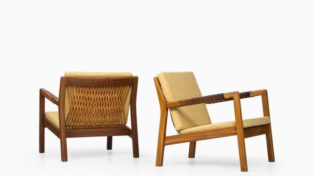 Carl Gustaf Hiort af Ornäs easy chairs Trienna at Studio Schalling