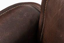 De Sede easy chair in dark brown leather at Studio Schalling