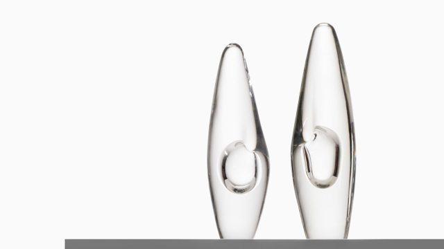 Timo Sarpaneva Orchid glass vases by Iittala at Studio Schalling