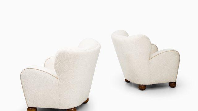 Märta Blomstedt easy chairs model Aulanko at Studio Schalling