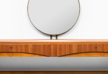 Bertil Fridhagen vanity in teak by Bodafors at Studio Schalling