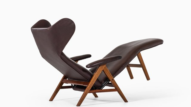 Henry Walter Klein reclining chair by Bramin at Studio Schalling