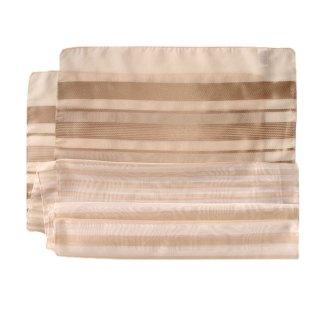 Polyester Schal in beige