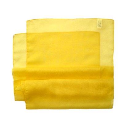 Chiffon Schal in gelb
