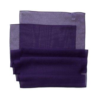 Chiffon Schal in violett