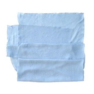 Polyester Schal in altblau