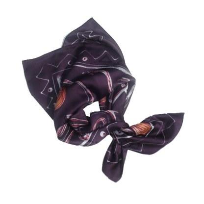 Halstuch in violett