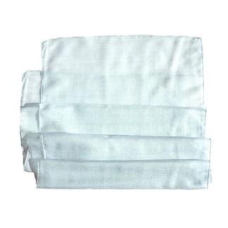 Polyester Schal graublau