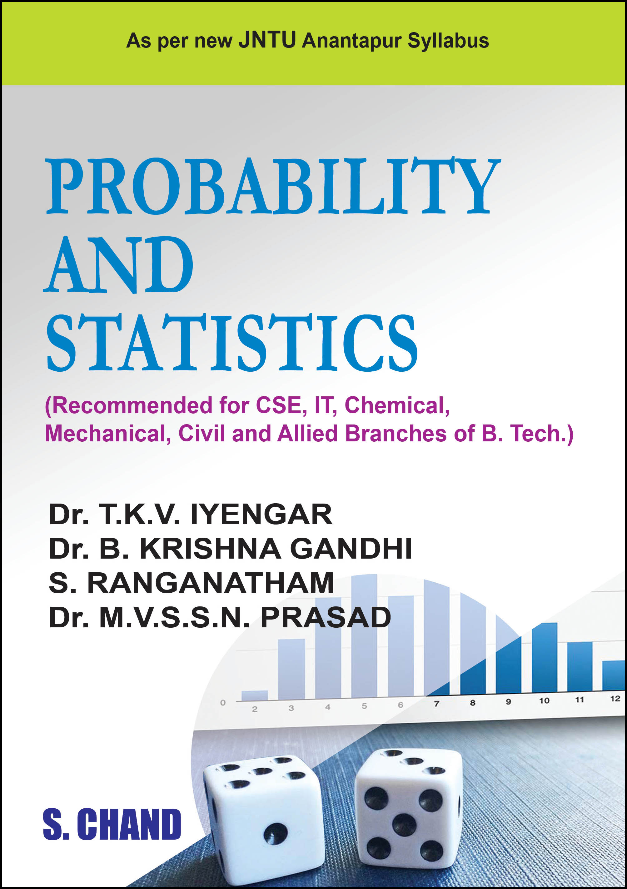 Probability And Statistics By Dr T K V Iyengar