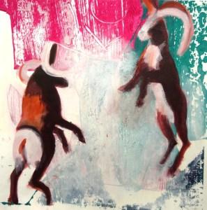 SchatvanSchouten Dancing with sheep