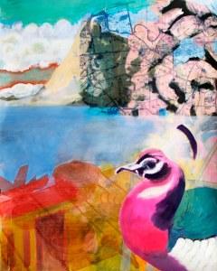 SvS Kunst Onderdeel hotelpuzzelmuur pauw aan zee
