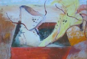 van Schouten Kunst verhaal met Schoenen (Custom)