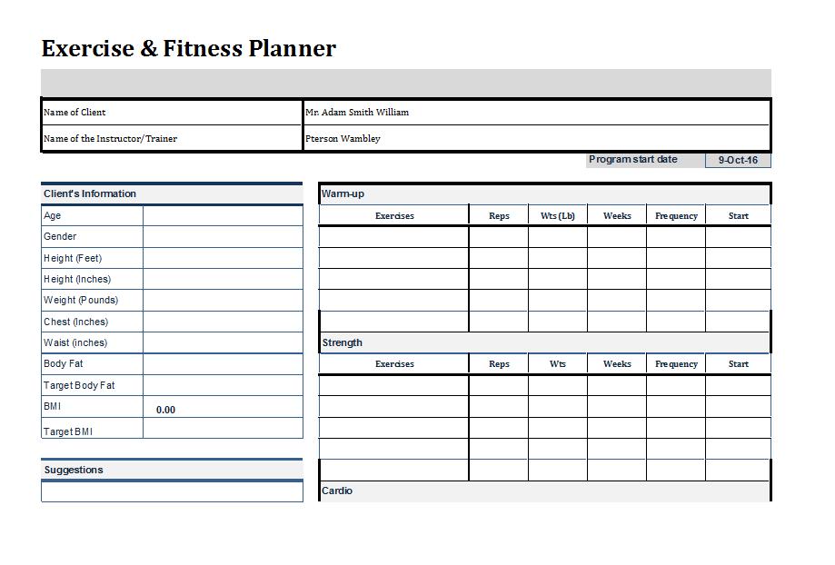 Weekly Planner Word Doc