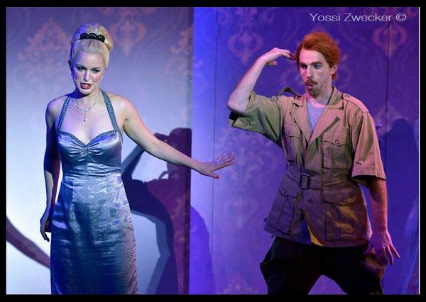 הרוזן והרוזנת - מערכה 2 (צילום: יוסי צבקר)