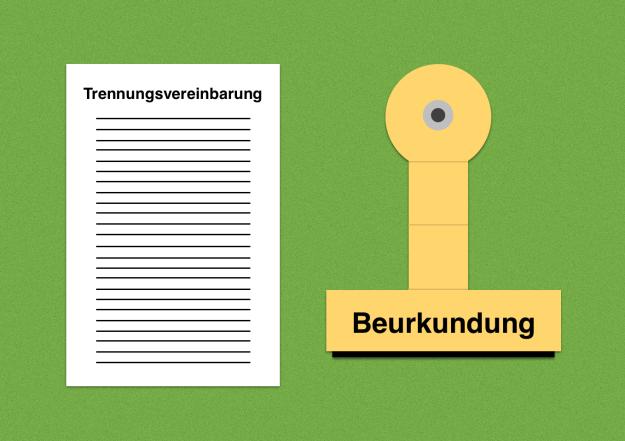 trennungsvereinbarung beurkundung ist ein notartermin notwendig - Trennungsvereinbarung Muster Kostenlos