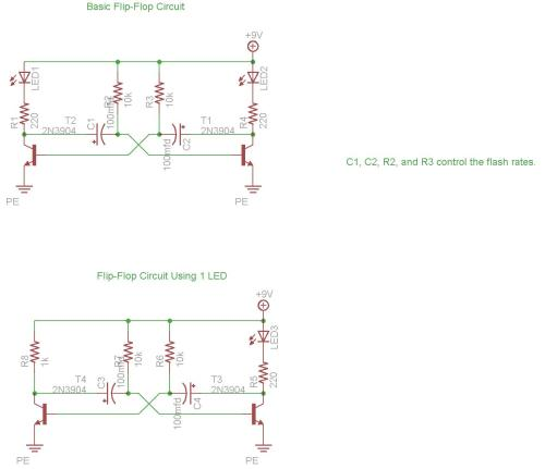 small resolution of basic flip flop circuit diagram download